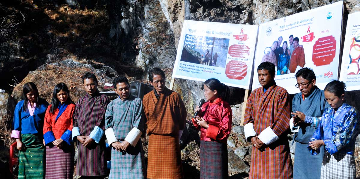 About Lhak-Sam (BNP+) - Network of people living with Hiv & AIDS in Bhutan